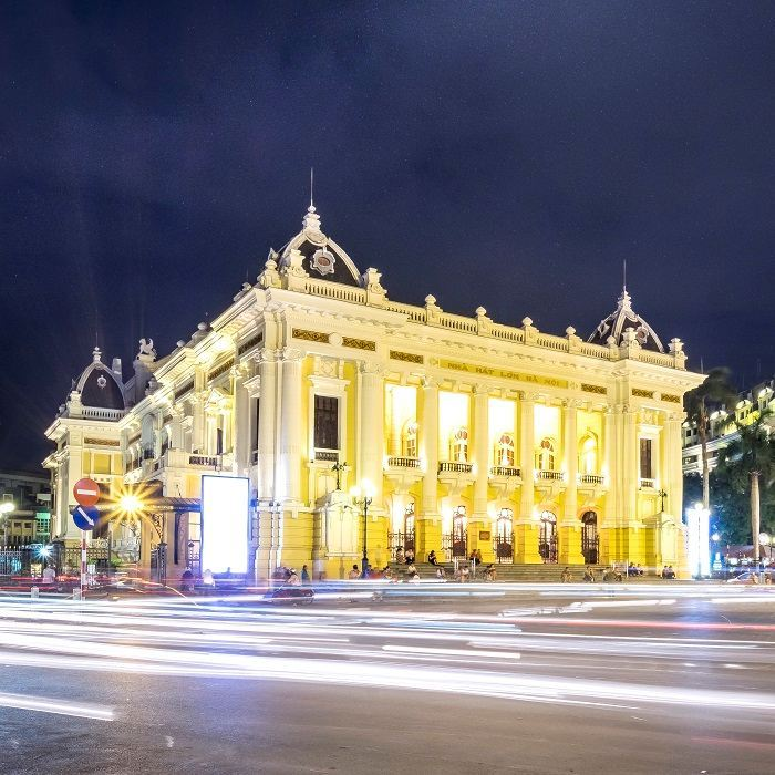 108-YEAR-OLD HANOI OPERA HOUSE