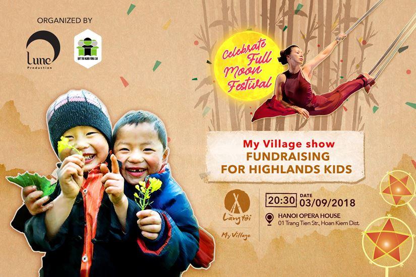 """FUNDRAISING EVENT FOR HIGHLANDS KIDS """"CELEBRATE FULL MOON FESTIVAL"""""""