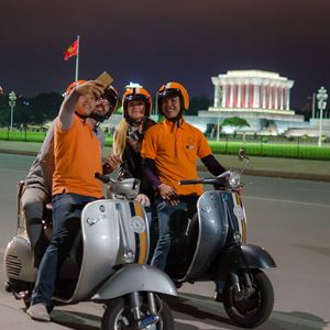 Vespa Adventures in Hanoi